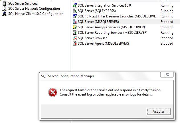error1: SQL Server (MSSQLSERVER)