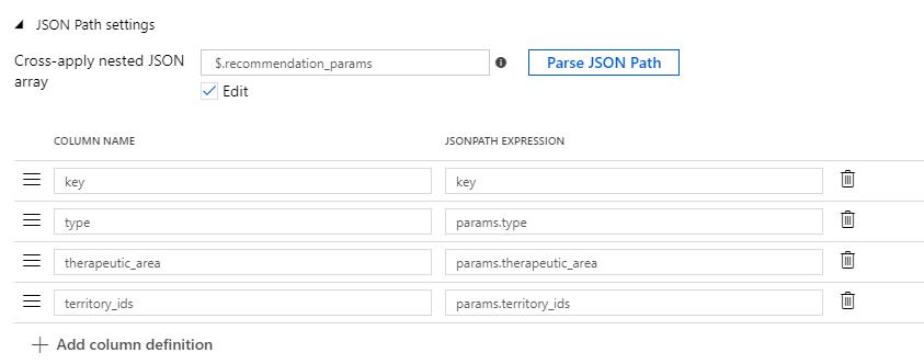 JSON source data: Reading JSON arrays