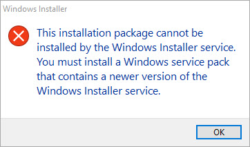 InstallShield Express 5 setup exe Will Not Complete Install