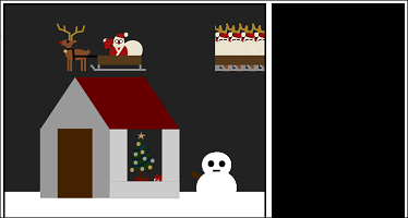 Screen shot of a program Xmas Tree 0.4
