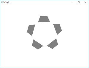 Screen shot of a program Cog 0.1