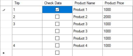 Combine grouping and only 1 checkbox checked in datagridview