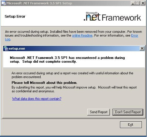 Download. Net framework 3. 0 and 2. 0 updates.
