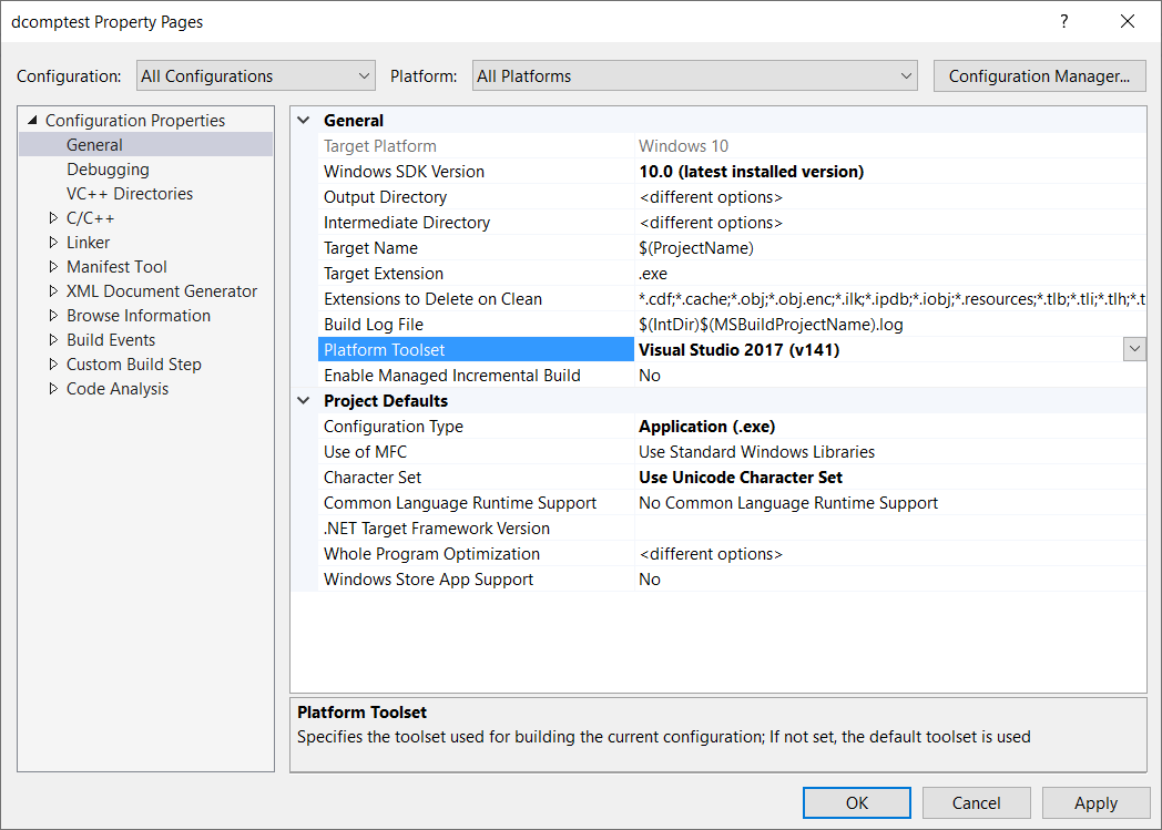 The Build Tools For Visual Studio 2017 V141 Cannot Be Found