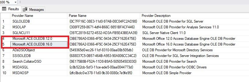 Unable to import data into SQL Server using import/export