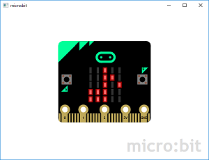 Screen shot of a program micro:bit 0.3