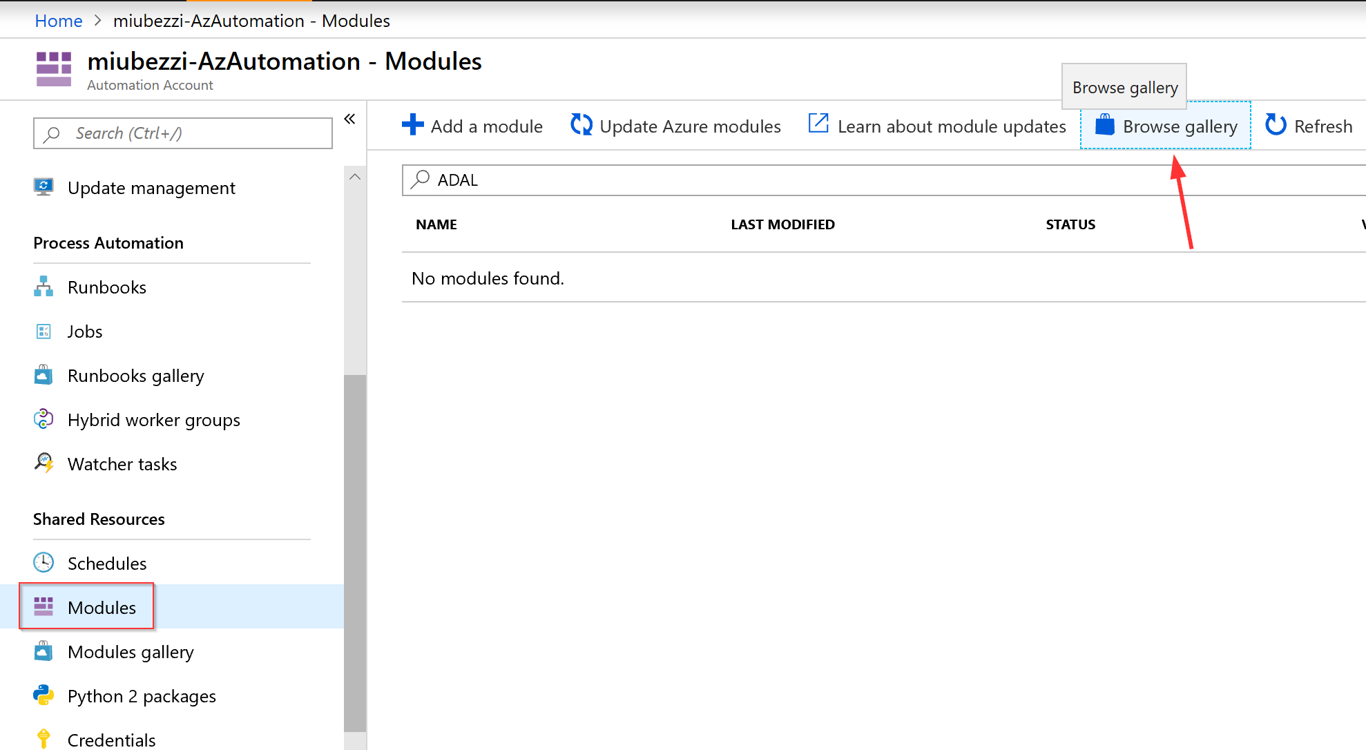 Using the AccessToken from Metadata Service with SMO in