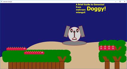 Screen shot of mahreen's Doggy
