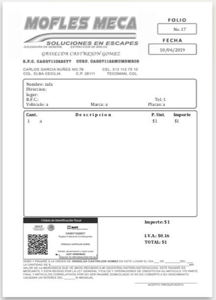Resultado de impresión deseado y generado por pdf generado por Microsoft print to pdf