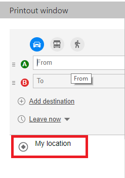 Bing maps direction manager Directions Bing Maps on