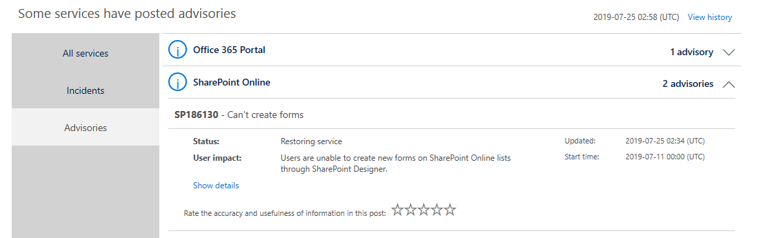 Issues all of sudden with SharePoint Online Custom New Edit