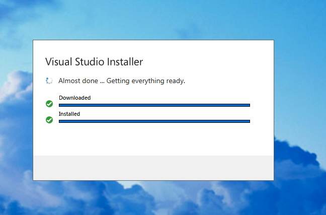 Problem with MS VS 2019 installation
