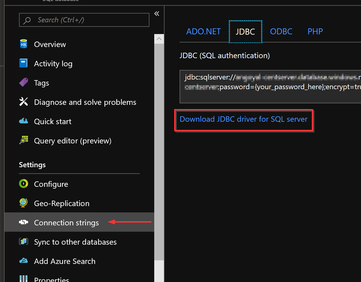I need jtds  jar file for connecting oracle db with azure