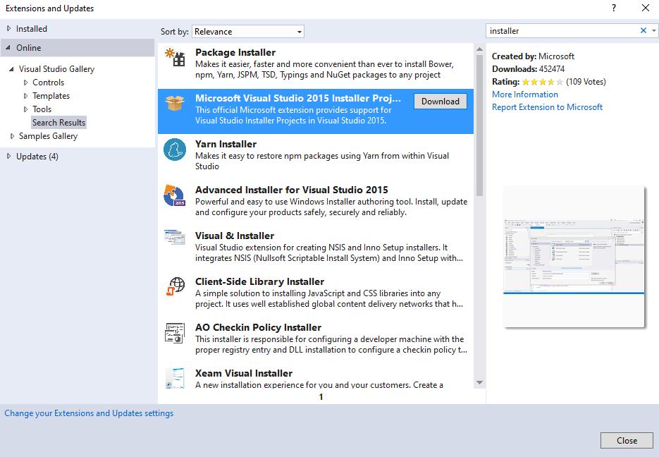 VS 2010 setup installer project (vdproj) is incompatible