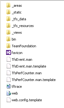 TFS file list