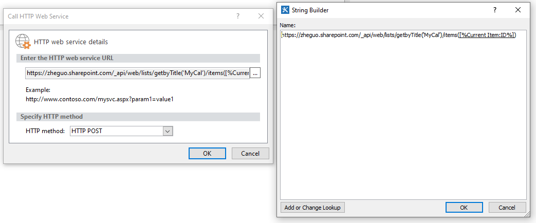 Sharepoint Designer 2013 Call Http Web Service Delete Workflow Not Working