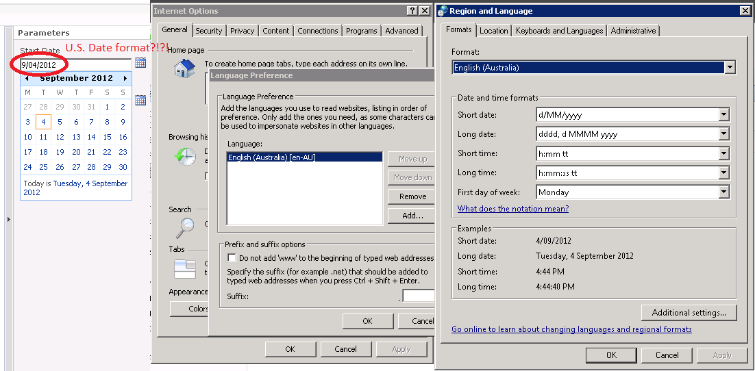 SSRS Datetime Parameter value should display in DD/MM/YYYY format
