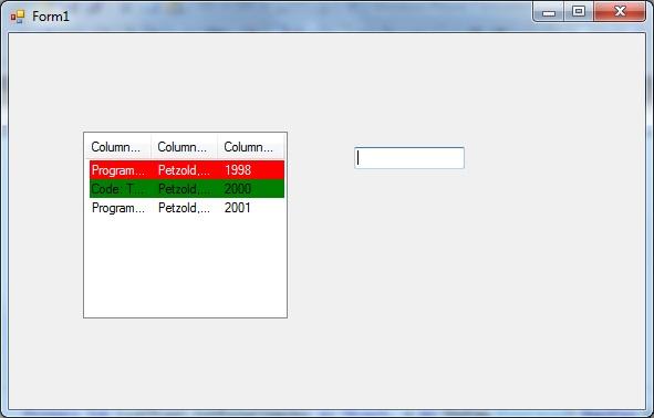 Vb Listview Column Header Color MASM Custom Draw Listview