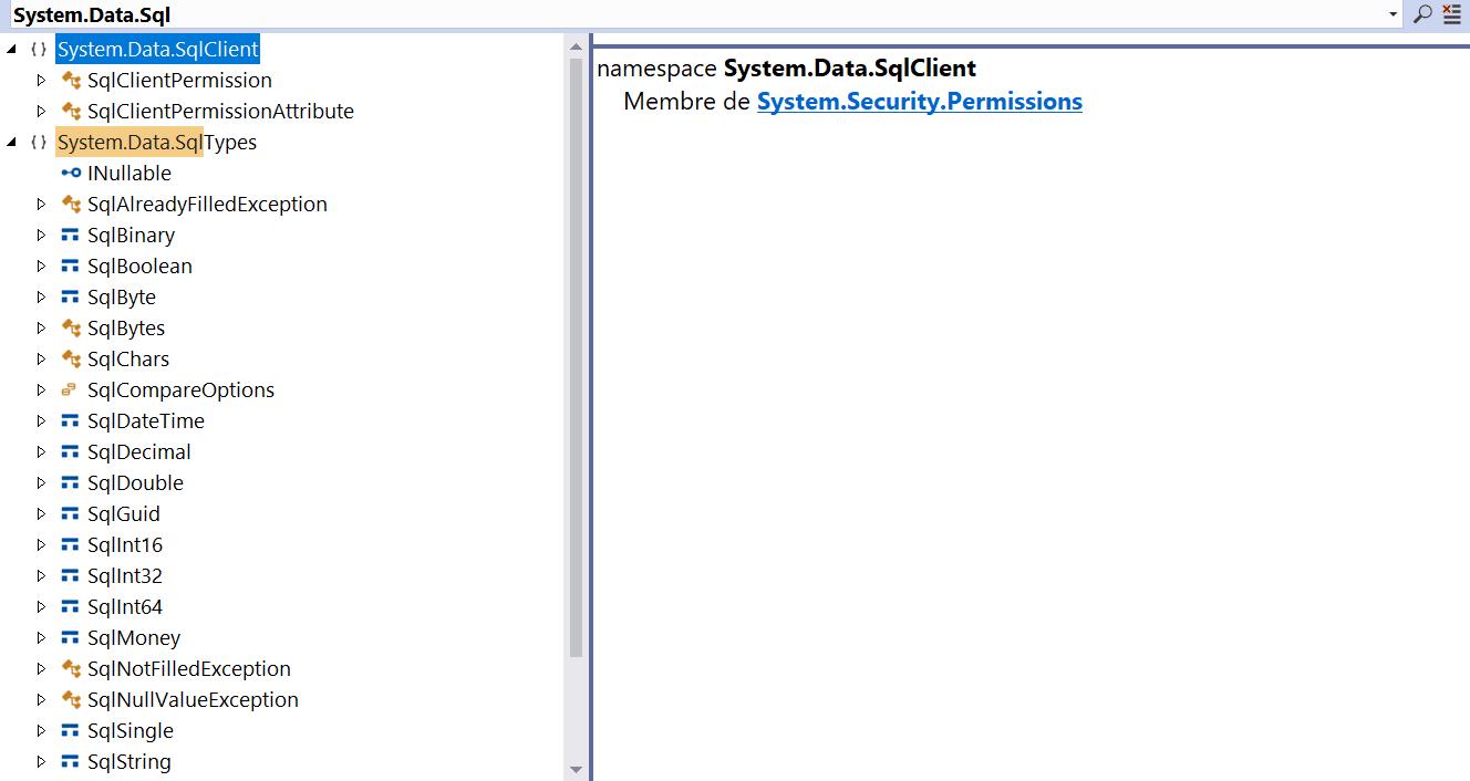 System.Data.Sql