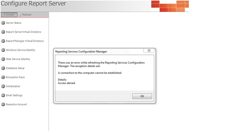 how to give access to sql server reporting services