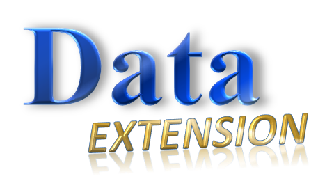 The official logo of Data Extension