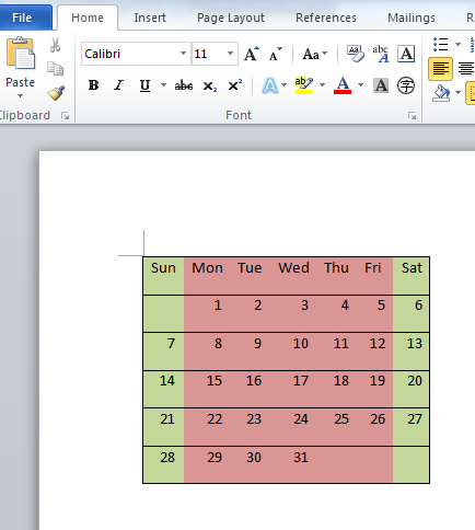 Render Excel document to word document using C# net