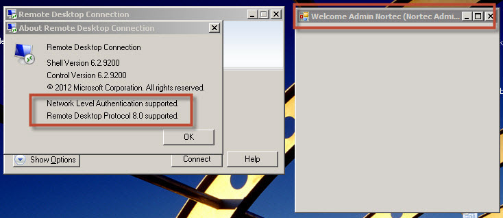 TS Application not opening while using latest RDP 8.0