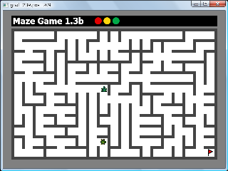 Screen shot of Maze Game 1.3b