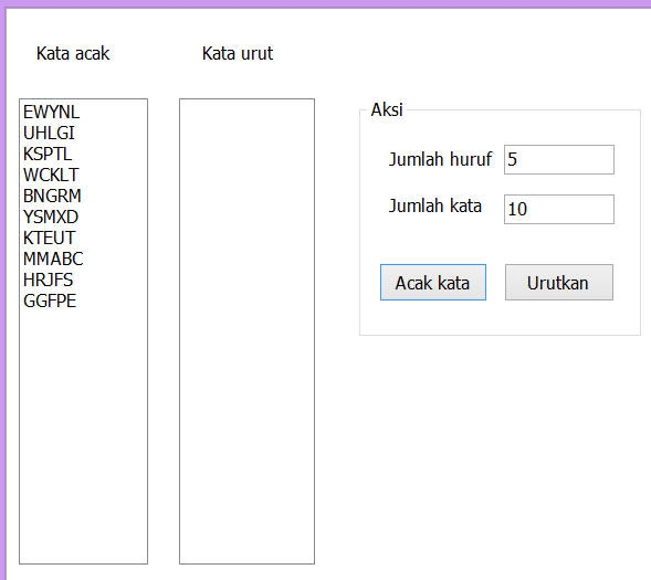 Sorting Character on listbox with Quick Sort   Visual Basic.2012