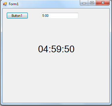 Countdown timer in vb? Any help?