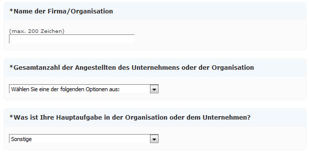 Firma/Organistionsbeschreibung