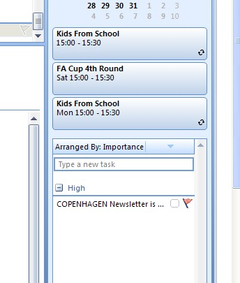 how to add a calendar in outlook 2013