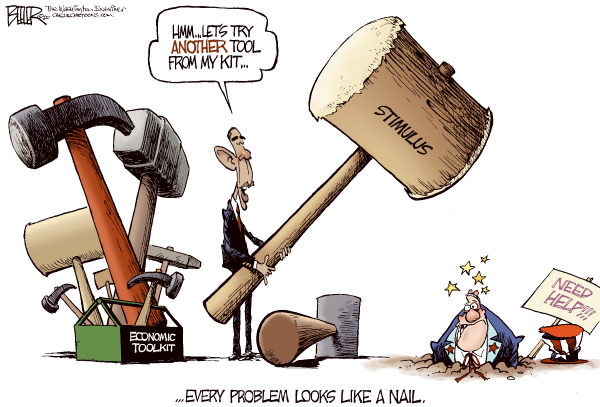 If the only tool you own is a hammer, every problem looks like a nail