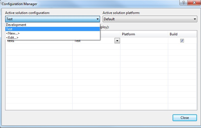 how to create xml configuration file