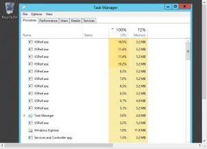 application experience service windows server 2012