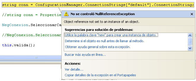 how to get connectionstring from app.config in c windows application