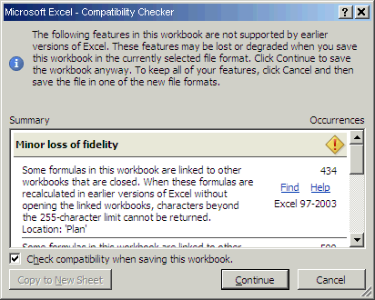 Excel automation auto confirm of compatibility checker notification its ok but this message appears somewhere in background window so the user still can see access window and he dont understand that there is this ibookread ePUb