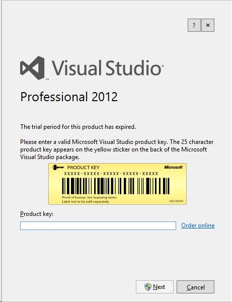 Visual Studio Premium 2012 Cheap License