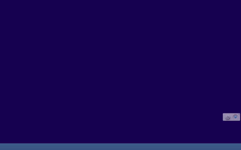 top创建虚拟桌面后看不到图标