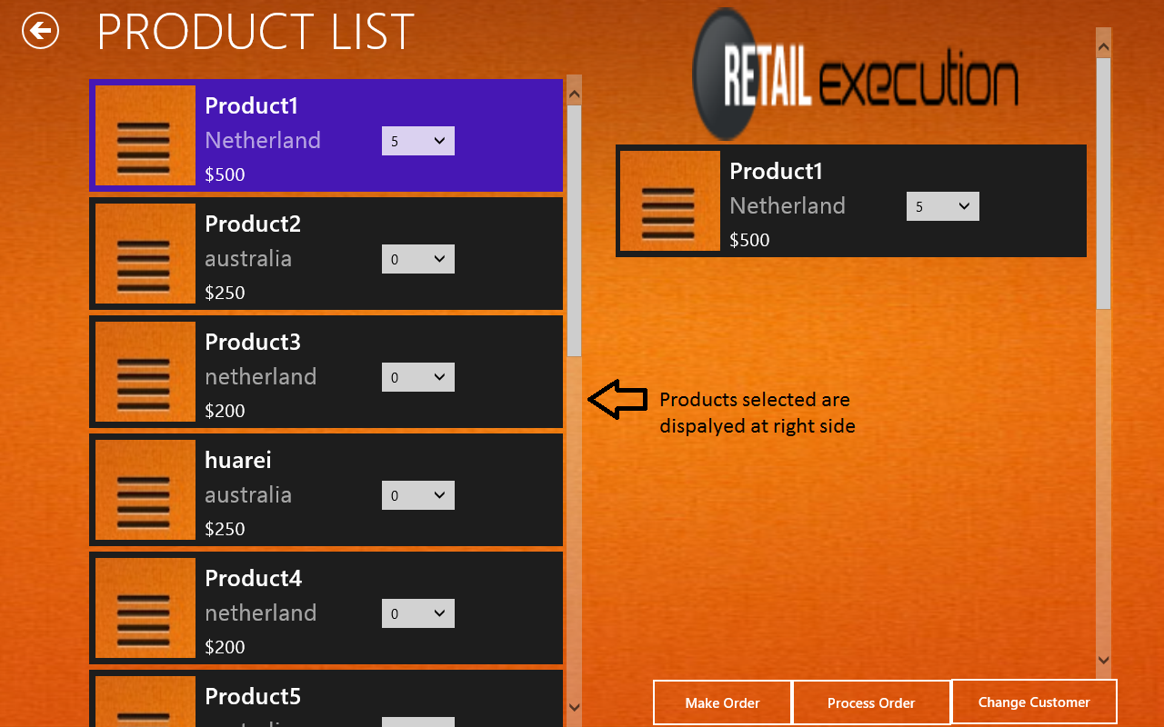 is this possible to display selected list view items in other list view ...i am using javascript and HTML.......