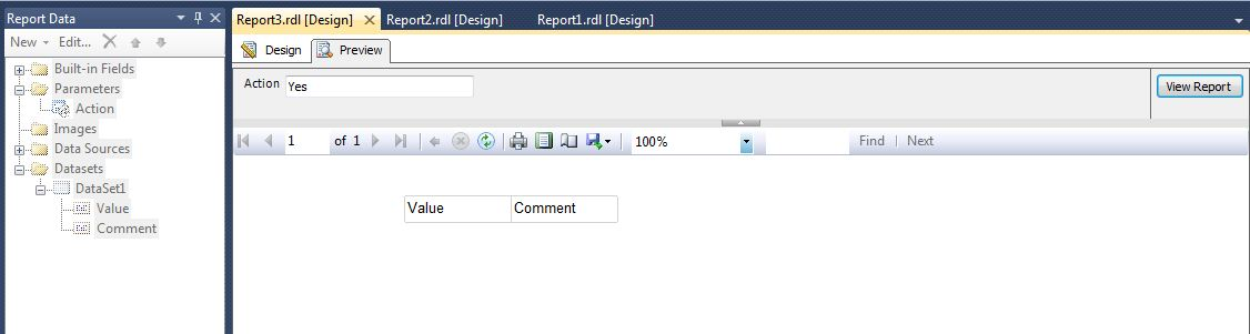 Ssrs Hide Row Based On Parameter