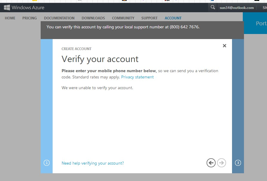 account verify
