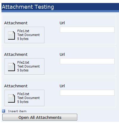Attachment Issue