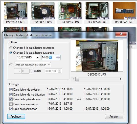 Modifier La Date De Creation D Un Fichier