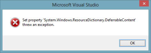 B201480 - Exception when the 'System.Windows ...