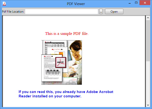Pdf Viewer Dll