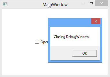 Second wpf window not hiding and calling on close event handler twice