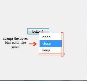 Context menu strip in vb net