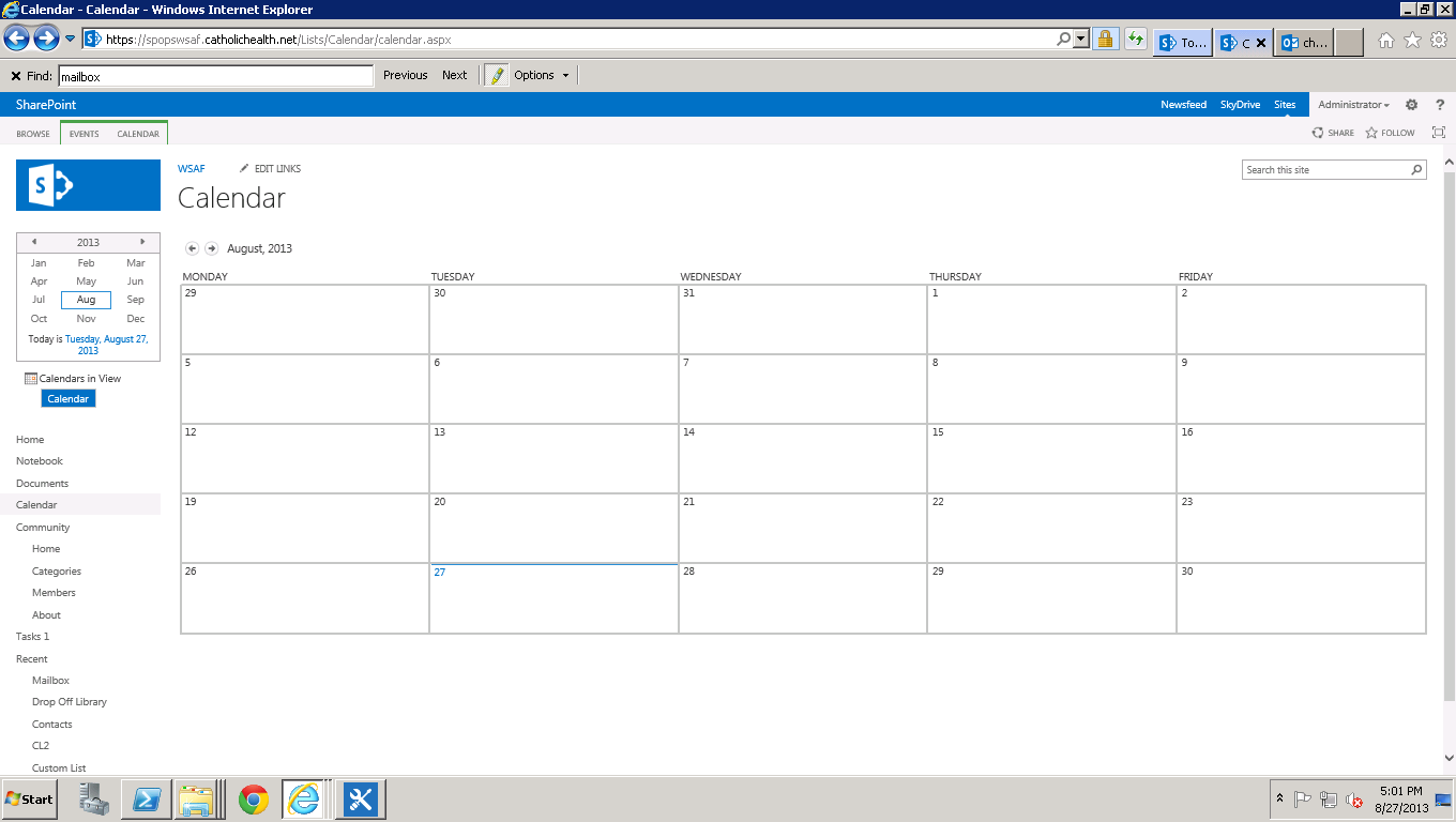 Remove saturday and sunday from calendar view in sharepoint