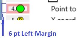 app screen shot: 6px left-margins in gridviewrowpresenters contentpresenters of treeviewitem control template